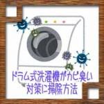 ドラム式洗濯機がカビ臭い!対策に掃除方法はクエン酸や重曹で?